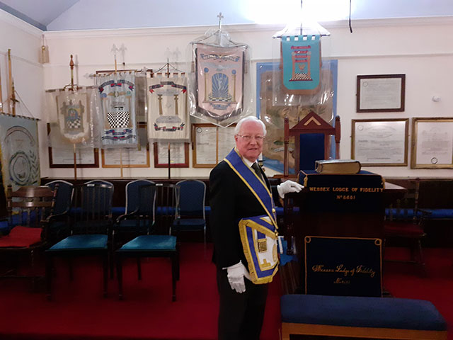 Founder Member, The Wessex Lodge of Fidelity No. 8681